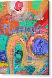 Sacred Marriage Acrylic Print