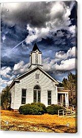 Sacred Skies Acrylic Print by Greg Sharpe