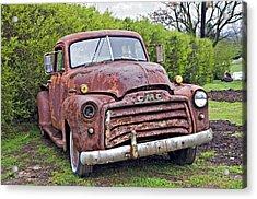Sad Truck Acrylic Print