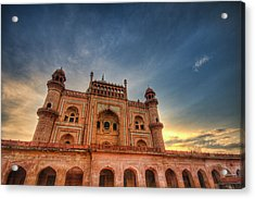 Safdarjung's Tomb Acrylic Print by Sudiproyphotography