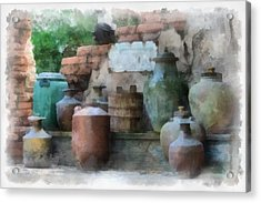 Safe Water For Travellers Acrylic Print by Matt Matthews