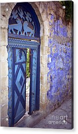 Safed Door Acrylic Print