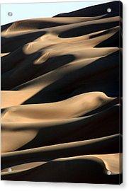 Sahara Sand Shadows Acrylic Print by Joe & Clair Carnegie / Libyan Soup