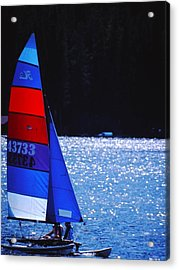 Sail Away Acrylic Print by Richard Stillwell