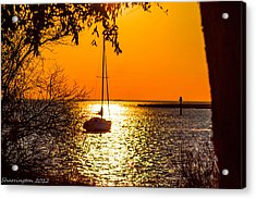 Acrylic Print featuring the photograph Sail Away by Shannon Harrington