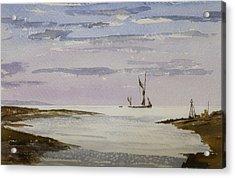Sail On By Acrylic Print by Rob Hemphill