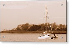 Sailboat On Chesapeake Acrylic Print