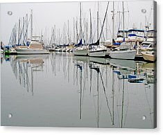 Sailboat Reflections Acrylic Print by Gil Kanat