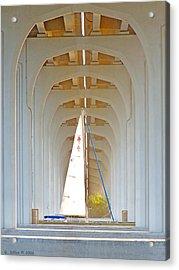 Sailboat Sanctuary Acrylic Print