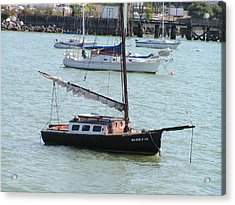 Acrylic Print featuring the photograph Sailboats Of Bellingham Bay by Rand Swift
