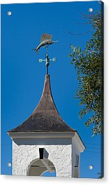 Sailfish Weather Vane At Palm Beach Shores Acrylic Print