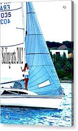 Sailing Arts Acrylic Print by Rogerio Mariani