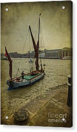 Acrylic Print featuring the photograph Sailing Away... by Clare Bambers