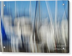 Sailing Acrylic Print by Catherine Lau
