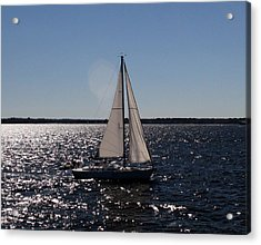 Sailing On The Bay2 Acrylic Print