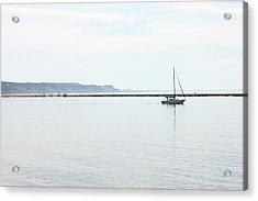 Sailing Acrylic Print by Sheryl Burns