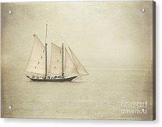 Sailing Ship Acrylic Print by Hannes Cmarits