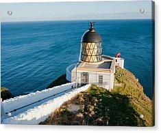 Saint Abb's Head Lighthouse And Foghorn Acrylic Print