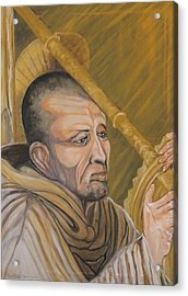 Saint Bernard Of Clairveaux Acrylic Print