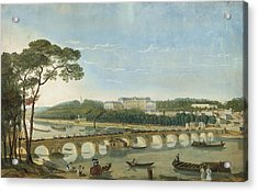 Saint-cloud During The Visit Of King Francois I, France, 1830 Acrylic Print by Photos.com