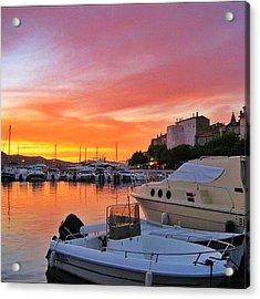 Saint Florent Corse France 2004 Acrylic Print
