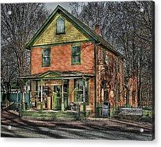 Saint James General Store Acrylic Print