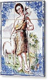 Saint John Acrylic Print by Gaspar Avila