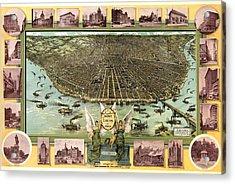 Saint Louis 1896 Acrylic Print by Donna Leach
