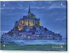 Saint Michaels Mount  Acrylic Print by Heiko Koehrer-Wagner