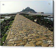 Acrylic Print featuring the photograph Saint Michael's Mount by Lainie Wrightson