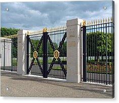 Saint Mihiel Wwi American Cemetery  France Acrylic Print by Joseph Hendrix