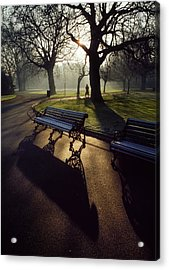 Saint Stephens Green, Dublin, Co Acrylic Print by The Irish Image Collection