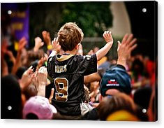 Saints Boy Acrylic Print