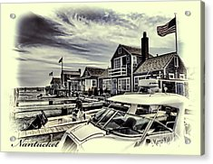 Acrylic Print featuring the photograph Salem Street - Nantucket Harbor by Jack Torcello