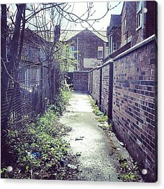 #salford #manchester #houses Acrylic Print
