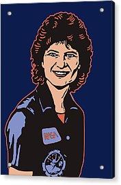 Sally Ride Phd Acrylic Print