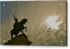 Acrylic Print featuring the photograph Salute To The Sun by Eric Tressler