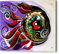 Salvador Dali Octo Fish Acrylic Print