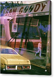 Acrylic Print featuring the photograph Sam Goody - New York 1976 by Craig Wood
