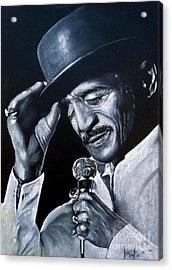 Sammy Davis Jr Acrylic Print