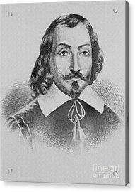 Samuel De Champlain Acrylic Print by Photo Researchers