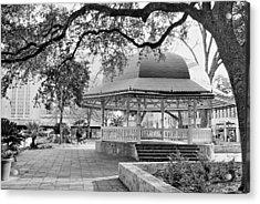 San Antonio Bandstand II Acrylic Print