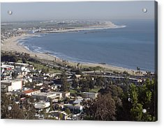 San Buenaventura State Beach Acrylic Print by Rich Reid