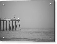 San Clemente Pier Acrylic Print by Ralf Kaiser