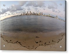 San Diego Bay Acrylic Print