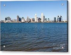 San Diego Cityscape Acrylic Print by Paul Velgos