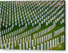 San Diego Military Memorial 2 Acrylic Print by Bob Christopher