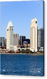 San Diego Skyscrapers Acrylic Print by Paul Velgos