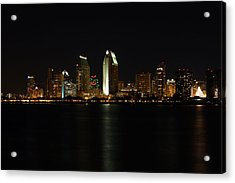San Diego Acrylic Print by Steve Parr