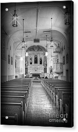 San Felipe De Neri Church Acrylic Print by Donna Greene